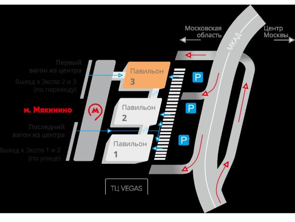 InterCHARM 2020 Место проведения